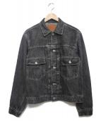 PHERROWS(フェローズ)の古着「デニムジャケット ジャケット」|グレー