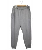 MR.GENTLEMAN(ミスタージェントルマン)の古着「スウェットパンツ  パンツ」 ライトグレー