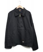 Dickies(ディッキーズ)の古着「ジップジャケット」|ブラック