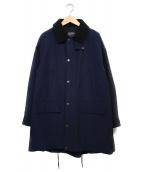 MACPHEE(マカフィ)の古着「ハンティングコート コート」|ネイビー