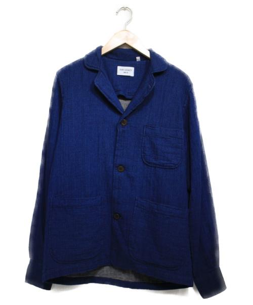 OUR LEGACY(アワーレガシー)OUR LEGACY (アワーレガシー) GENEROUS FIT BLAZER ジャケット インディゴ サイズ:Sの古着・服飾アイテム