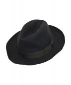 BORSALINO(ボルサリーノ)の古着「ハット 帽子」|グレー