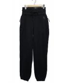 NIKELAB(ナイキラボ)の古着「ハイライズフリースパンツ」 ブラック
