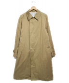 SCYE(サイ)の古着「ステンカラーコート」|ベージュ