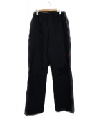 MAMMUT(マムート)の古着「GORE TEX RAIN PANT パンツ」|ブラック