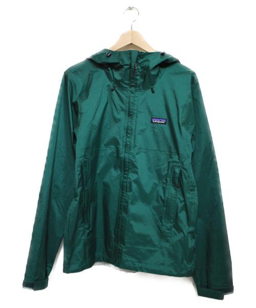 Patagonia(パタゴニア)Patagonia (パタゴニア) Torrentshell Jacket  ジャケット グリーン サイズ:Sの古着・服飾アイテム