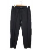 EN ROUTE(アンルート)の古着「タフタボンデージイージー パンツ」|ブラック