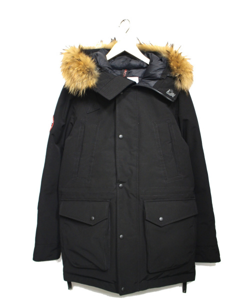 ARCTIC EXPLORER(アークティックエクスプローラー)ARCTIC EXPLORER (アークティックエクスプローラー) CHILLダウンジャケット ブラック サイズ:Sの古着・服飾アイテム