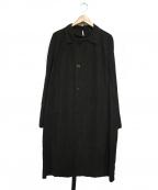 ms braque(エムズ ブラック)の古着「SOUTIEN COLLAR COAT」 グレー