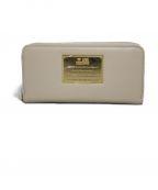 LOVE MOSCHINO(ラブモスキーノ)の古着「長財布 財布 」 ベージュ