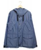 WOOLRICH(ウールリッチ)の古着「デニムアークティックジャケット ジャケット」 ブルー