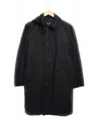 BEAMS Lights(ビームスライツ)の古着「コーデュラナイロントラベルコート コート」|ブラック