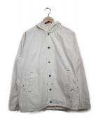 SASSAFRAS(ササフラス)の古着「マウンテンパーカー ジャケット」|ホワイト