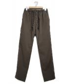 WILD THINGS(ワイルドシングス)の古着「MOTION EASY PANTS パンツ」 カーキ