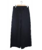 Deuxieme Classe(ドゥーズィエムクラス)の古着「リネンワイドパンツ パンツ」 グレー