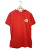 MONCLER(モンクレール)の古着「MAGLIA T-SHIRT 半袖Tシャツ」|レッド