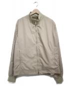 MONCLER(モンクレール)の古着「ハリントンジャケット」|ベージュ
