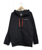 mont-bell(モンベル)の古着「パウダーシェットパーカー」|ブラック