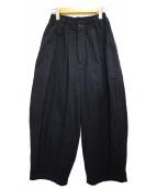 HARVESTY(ハーベスティー)の古着「チノクロスサーカスパンツ パンツ」|ネイビー