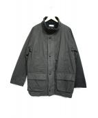 STEVEN ALAN(スティーヴンアラン)の古着「OILD OX 2WAY HUNTER COAT」|ブラック