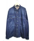 DIESEL(ディーゼル)の古着「D FLOX DENIM SHIRT」|インディゴ