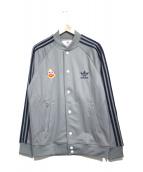 adidas Originals by 84-LAB(アディダスオリジナルスバイハチヨンラボ)の古着「ブルゾン」|グレー