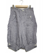 JUNYA WATANABE CDG(ジュンヤワタナベコムデギャルソン)の古着「サルエルハーフパンツ」|シャンブレー