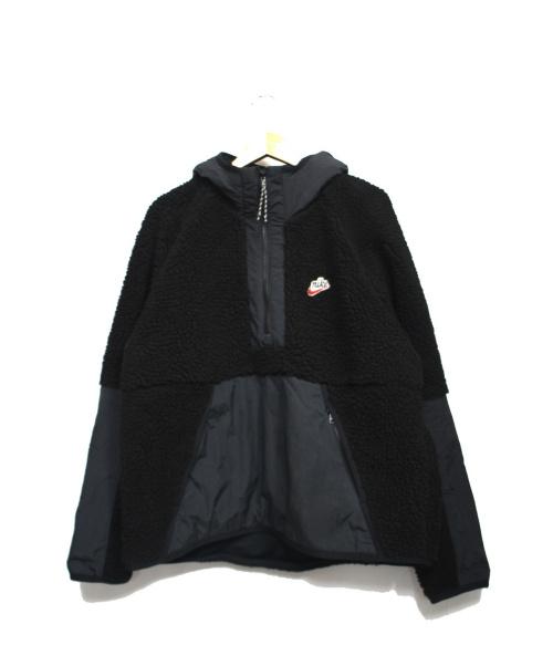 NIKE(ナイキ)NIKE (ナイキ) ハーフジッププルオーバー ブラック サイズ:XLの古着・服飾アイテム