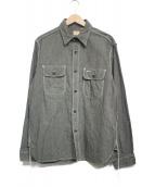 SUGAR CANE(シュガーケーン)の古着「ワークシャツ」|グレー