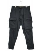 NIKE ACG(ナイキエーシージ)の古着「ウーブンカーゴパンツ」|ブラック