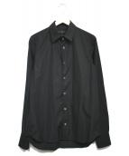 ANN DEMEULEMEESTER(アンドゥムルメステール)の古着「デザインシャツ」|ブラック