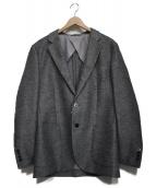 BEAMS Lights(ビームスライツ)の古着「カラミ2Bジャケット」|グレー