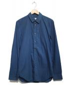 Maison Martin Margiela 10(メゾンマルタンマルジェラ)の古着「ロングスリーブシャツ」|ネイビー