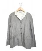 JIL SANDER(ジルサンダー)の古着「リネン混ジャケット」|グレー