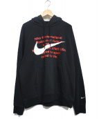 NIKE(ナイキ)の古着「SWOOSH FRENCH TERRY PULLOVER H」|ブラック