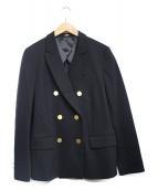 ROPE(ロペ)の古着「カルゼジャージブレザージャケット」|ブラック
