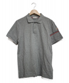 MONCLER(モンクレール)の古着「ポロシャツ」|グレー