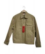 BONCOURA(ボンクラ)の古着「チノGジャン Z」|ベージュ