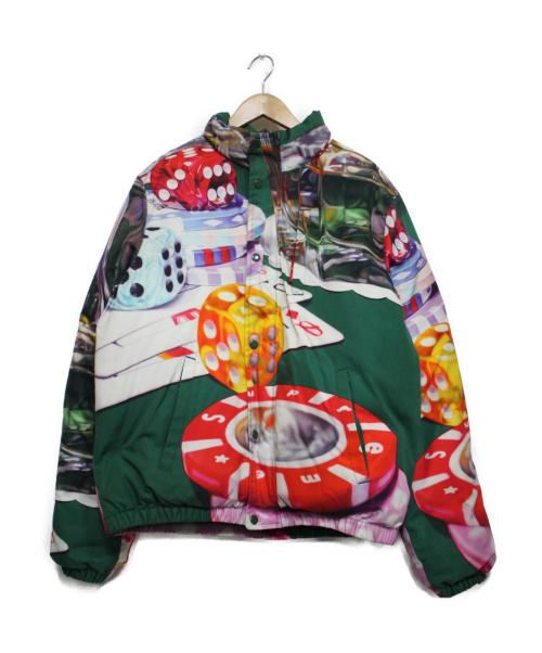 Supreme(シュプリーム)Supreme (シュプリーム) CASINO DOWN JACKET グリーン サイズ:M 18AWの古着・服飾アイテム
