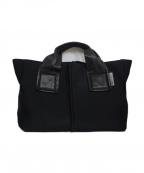 KAWA-KAWA(カワカワ)の古着「【WET】トートバッグL」|ブラック