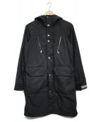 THE NORTHFACE PURPLELABEL(ザノースフェイスパープルレーベル)の古着「65/35クロスコート」|ブラック