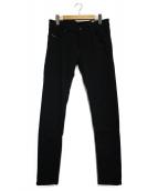 DIESEL(ディーゼル)の古着「スキニーパンツ」|ブラック
