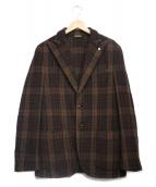 L.B.M.1911(エルビーエム1911)の古着「テーラードジャケット」 ブラウン