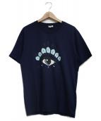 ()の古着「Eye Tee」 ネイビー