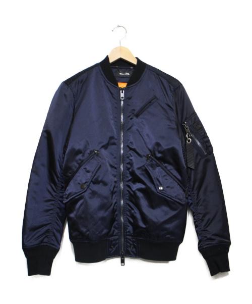 DIESEL(ディーゼル)DIESEL (ディーゼル) ボンバージャケット ネイビー サイズ:XSの古着・服飾アイテム