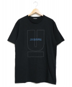 UNDERCOVER(アンダーカバー)の古着「ONLINE EXCLUSIVE U LOGO TEE」|ブラック