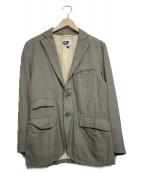 ()の古着「3Bジャケット」 ベージュ