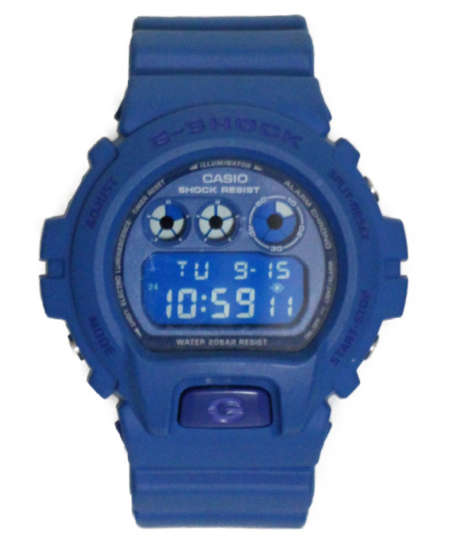 CASIO(カシオ)CASIO (カシオ) デジタルウォッチ ブルー G-SHOCK  デジタル ラバーの古着・服飾アイテム