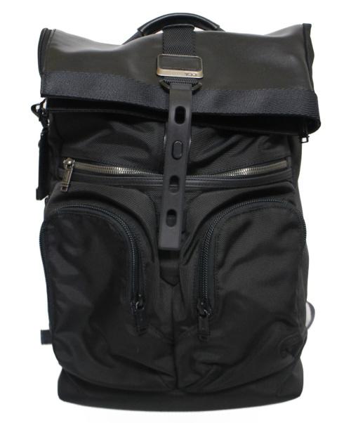 TUMI(トゥミ)TUMI (トゥミ) London Roll Top Backpack ブラック Alpha Bravoの古着・服飾アイテム