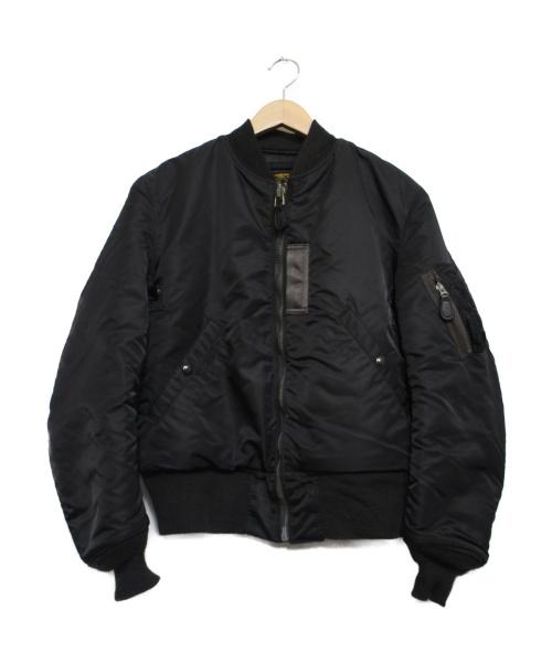 Buzz Ricksons(バズリクソンズ)Buzz Ricksons (バズリクソンズ) MA-1 SLENDER ブラック サイズ:38 WILLIAM GIBSON COLLECTIONの古着・服飾アイテム